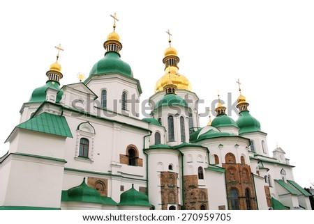 Saint Sophia (Sofievskiy) Cathedral, Kyiv, Ukraine - stock photo