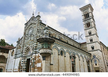 Saint Stephan Cathedral in Prato, Italy