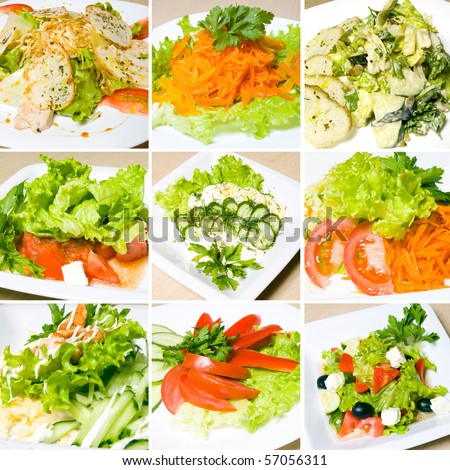Как фотографировать салаты