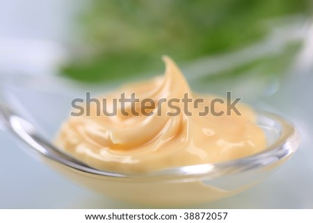 Salad dressing - stock photo