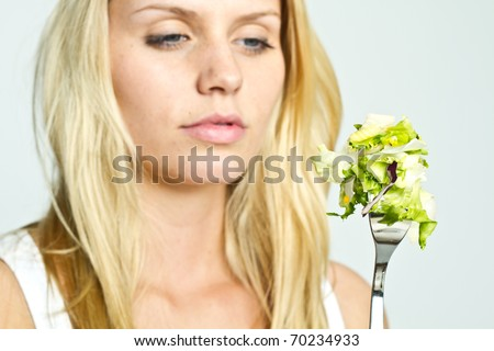 salade - stock photo
