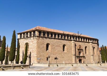 Salamanca - Convento de las Due�±as - stock photo