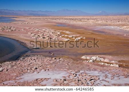 Salar de Atacama, Chile - stock photo