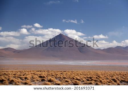 Salar de Uyuni - Uyuni Salt Lake in Bolivia. - stock photo