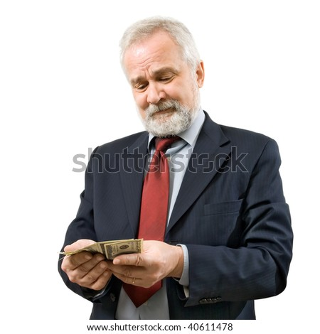 Salary. - stock photo