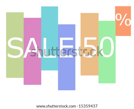 sale - stock photo