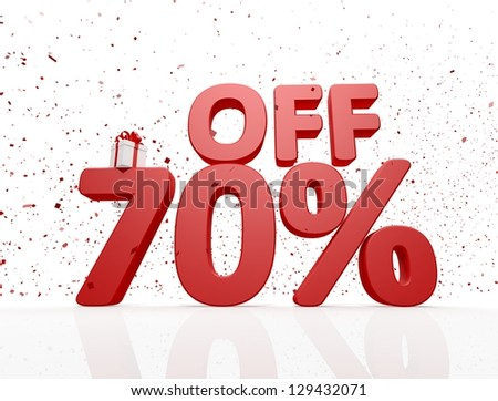sale discount - stock photo
