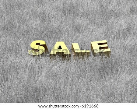 Sale of a Winter collection (image can be used for printing or web)