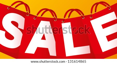 Sale on red packet