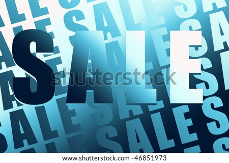 Sale or promotion sign