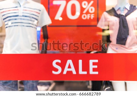 sale shopping season,sale label sign sticker in front of shop door glasses,sale shopping season for discount display,Sale marketing business advertisement for clearance shop.