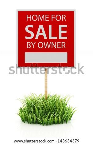 Sale sign - stock photo