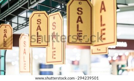 Sale Sign - stock photo