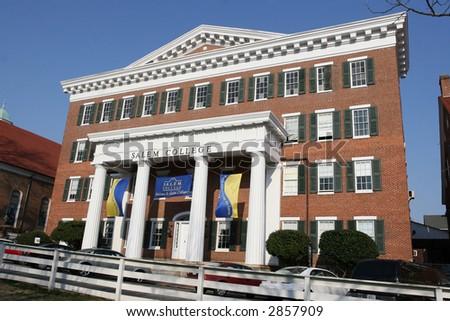 Salem College - stock photo