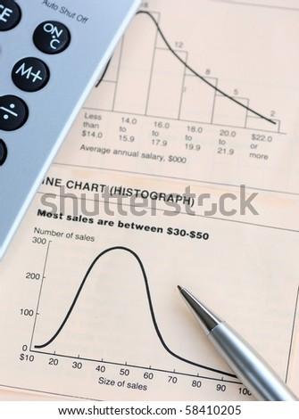 Sales Analysis - stock photo