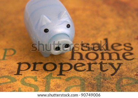Sales home property concept - stock photo