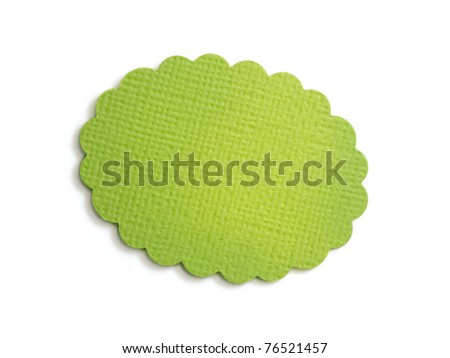 sales tag or label isolated - stock photo