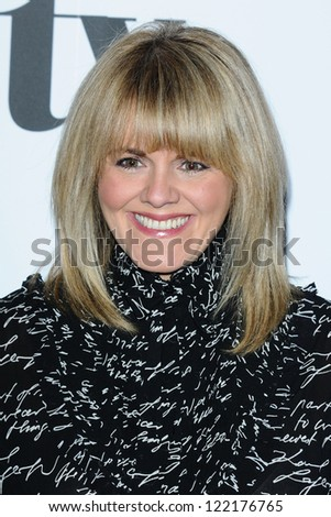Sally Lindsay arriving for the Women in Film and Tv Awards 2012 at the Park Lane Hilton, London. 07/12/2012 Picture by: Steve Vas