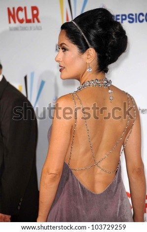 Salma Hayek at the 2009 ALMA Awards. Royce Hall UCLA, Westwood, CA. 09-17-09