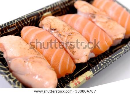 salmon - stock photo