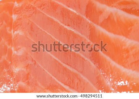 salmon red fish closeup texture