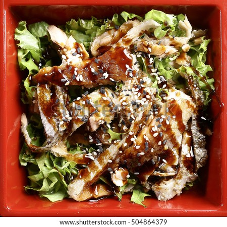Healthy Bites Crispy Salmon Skin Salad  YouTube