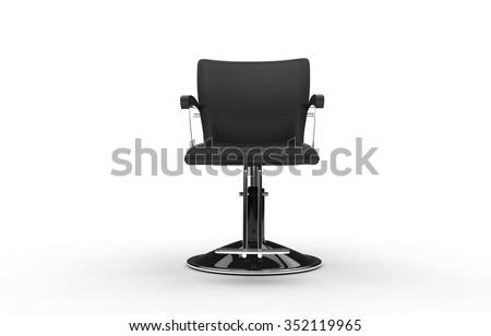Salon Chair - stock photo