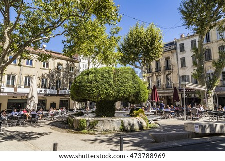 Salon de provence stock images royalty free images for Salon en provence