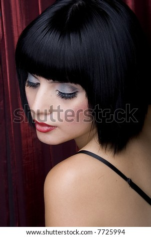 Salon Hair - stock photo