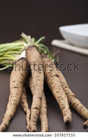 Salsify - stock photo