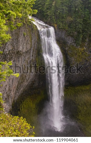 Salt Creek Falls, Oregon - stock photo