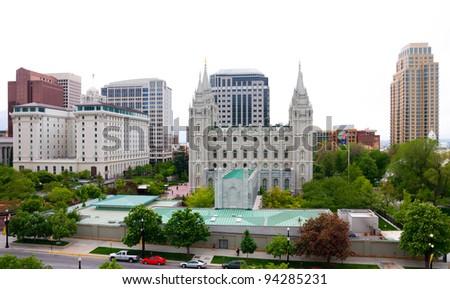 Salt Lake City, Utah - stock photo