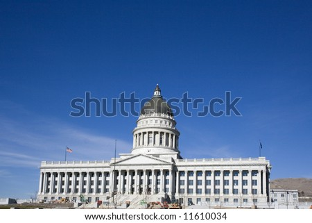 Salt Lake City, Utah - State Capitol