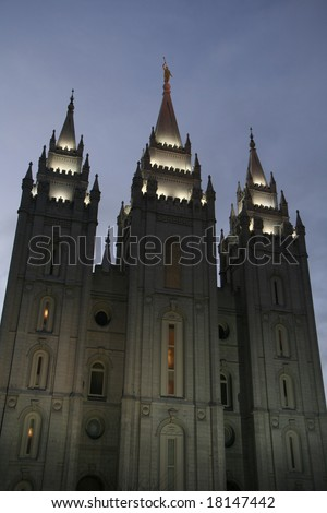 Salt Lake City, Utah, USA - stock photo