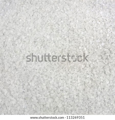 Salt large crystals evenly background - stock photo