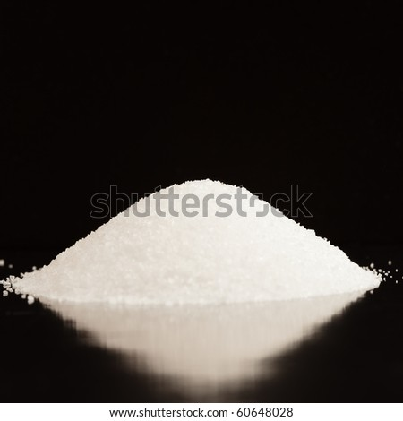 salt mountain - stock photo