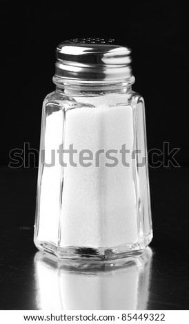 salt shaker - stock photo