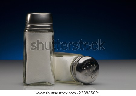 Salt Shakers - stock photo