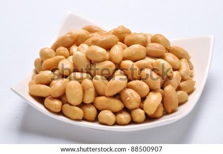 Salty Peanuts 6 - stock photo