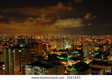 Salvador at Night (Bahia - Brazil)