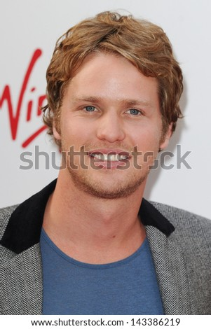 Sam Branson arriving for the WTA Pre-Wimbledon Party 2013 at the Kensington Roof Gardens, London. 20/06/2013 - stock photo