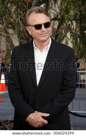 Sam Neill at the Los Angeles premiere of 'Legends of the Guardians: The Owls of Ga'Hoole' held at the Grauman's Chinese Theater in Hollywood, USA on September 19, 2010. - stock photo