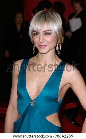 SAMAIRE ARMSTRONG at the 30th Annual People's Choice Awards in Pasadena, CA. January 11, 2004  Paul Smith / Featureflash