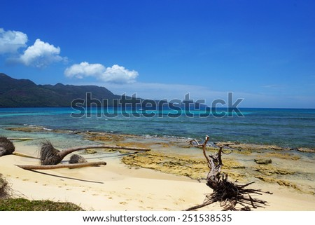 Samana peninsula, Dominican Republic , playa rincon beach