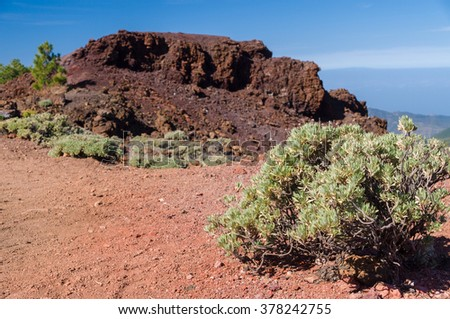Samara mountain, Tenerife island, Spain - stock photo