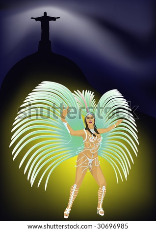 Samba - stock photo