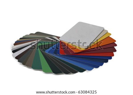 Sample Metal RAL Color Chart