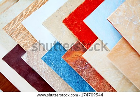 Samples Ceramic Tiles Shop Stock Photo (Royalty Free) 174709544 ...