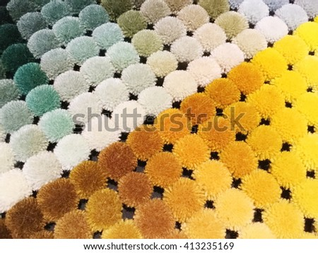 Samples of colored carpet, stacked , background, texture,