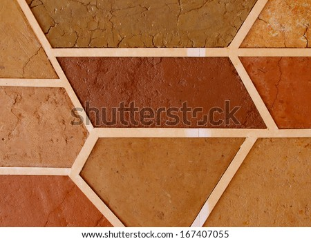 Samples of soil type as a background  - stock photo